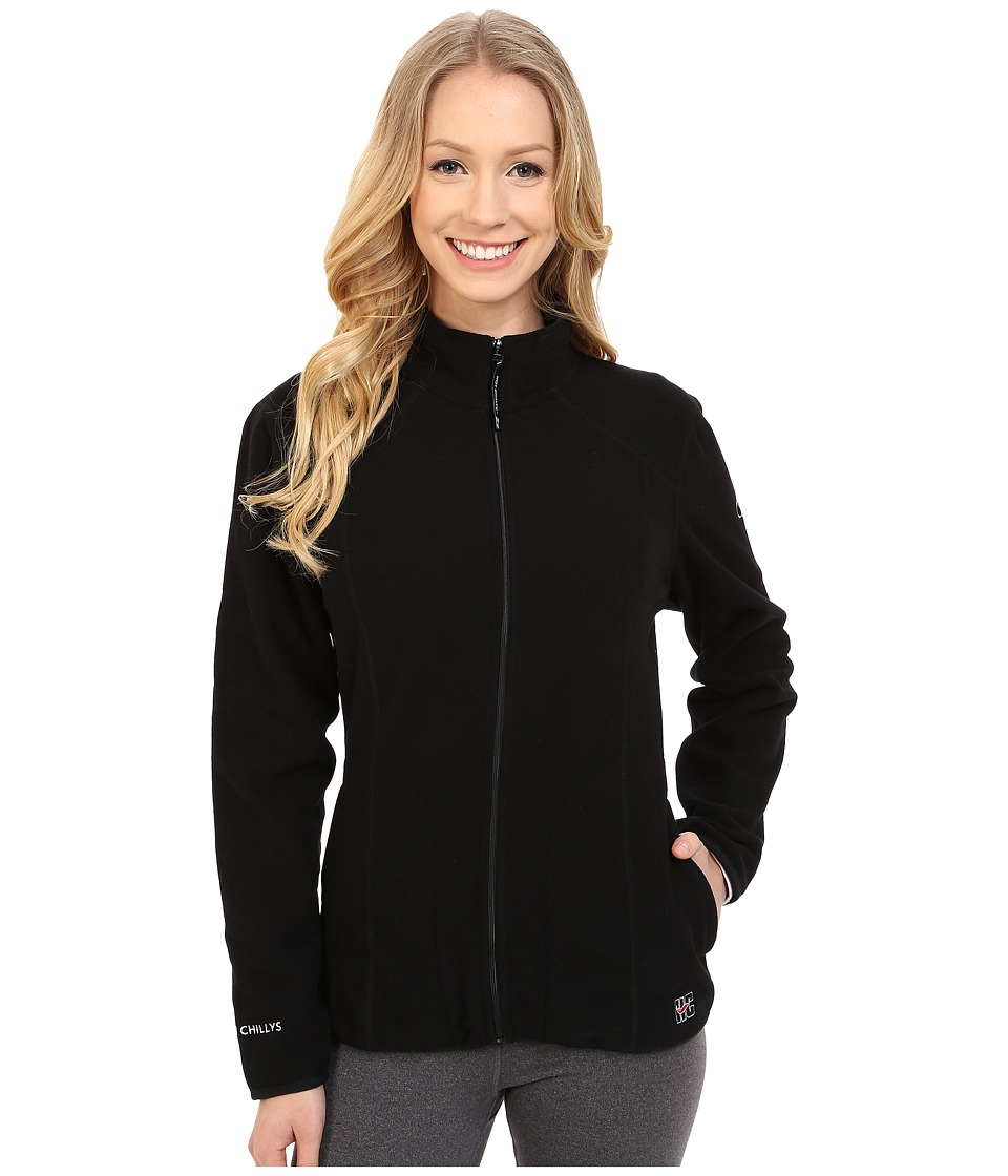 Hot Chillys - Baja Zip Jacket w/ Binding (Black) Women's Coat