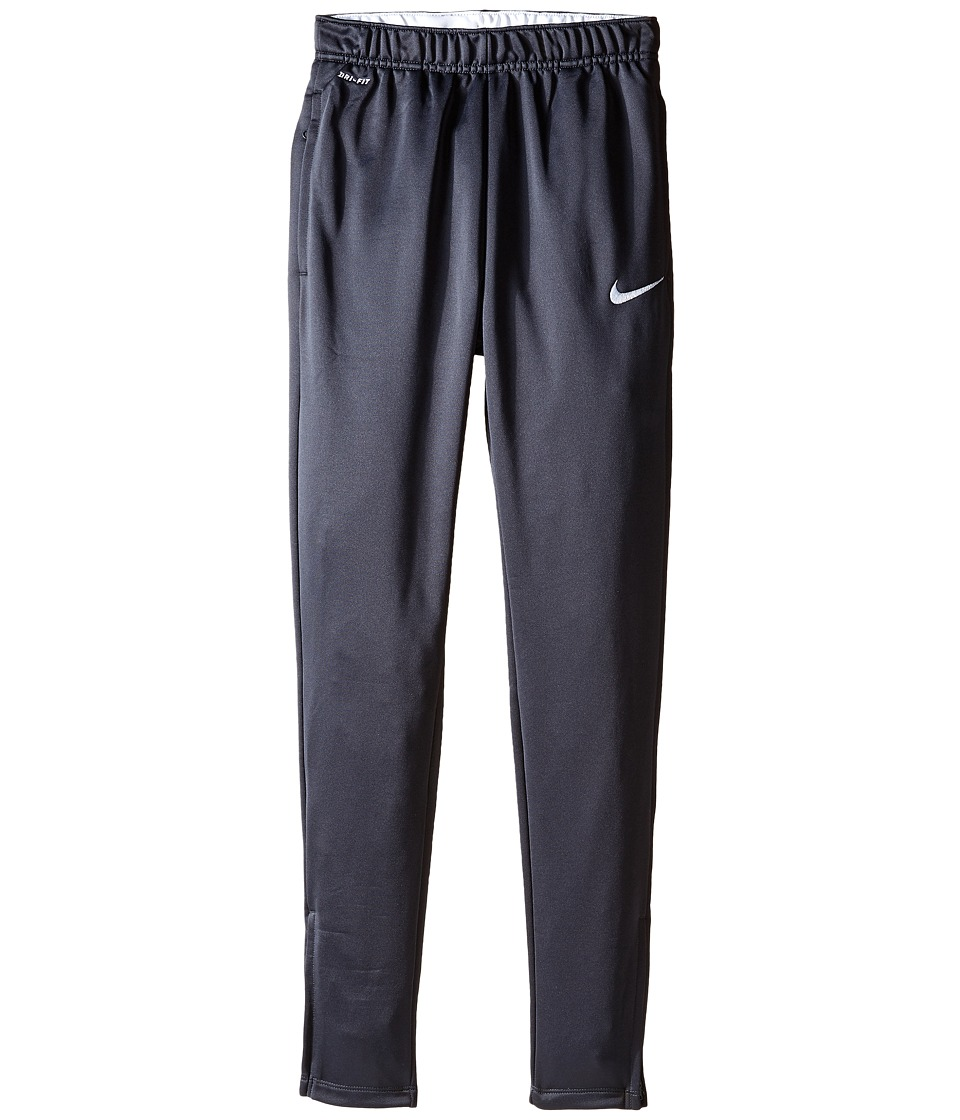 Nike Kids - Academy Tech Pant (Little Kids/Big Kids) (Anthracite/White/White) Boy's Workout