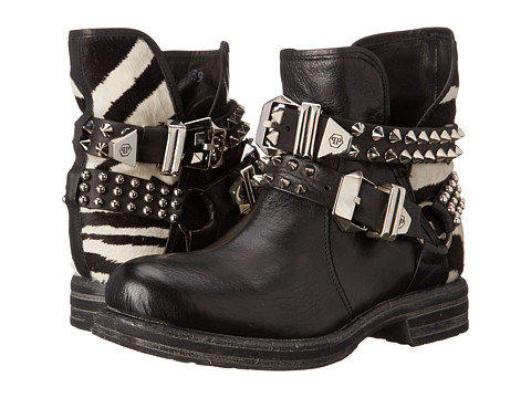 Philipp Plein - High Boots (Zebra) Women
