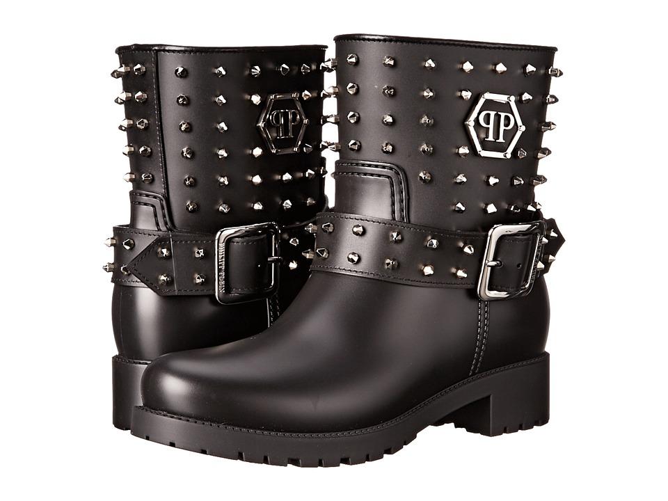 Philipp Plein - Gummy Boots (Black) Women