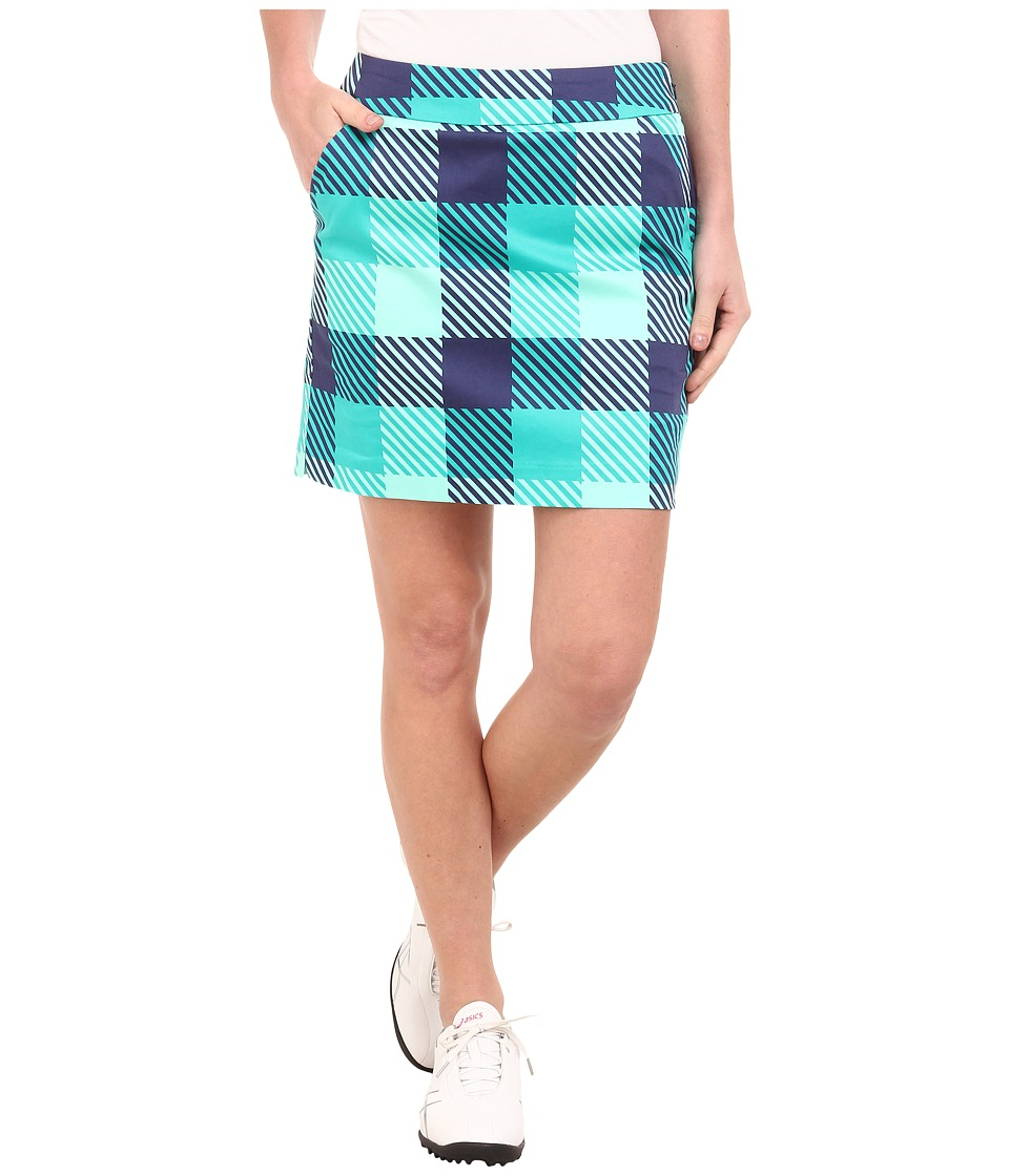Loudmouth Golf - Freeport Skort (Mint) Women's Skort