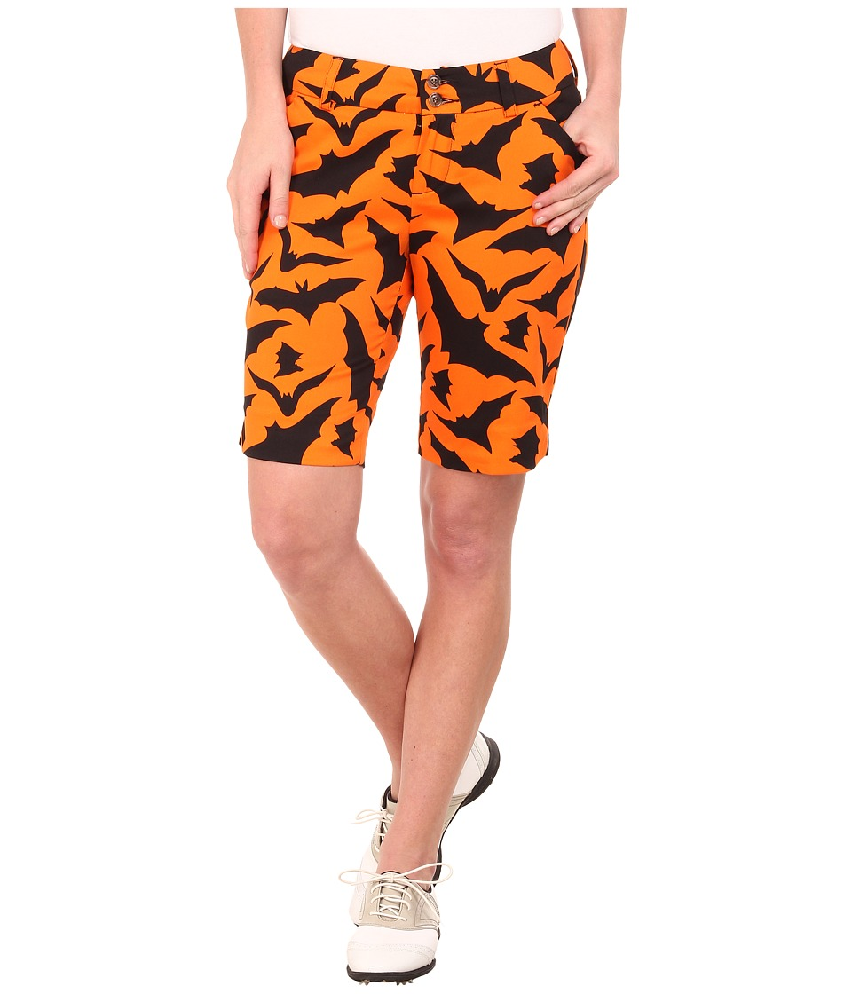 Loudmouth Golf - Blind Azza Shorts (Burnt Orange) Women's Shorts