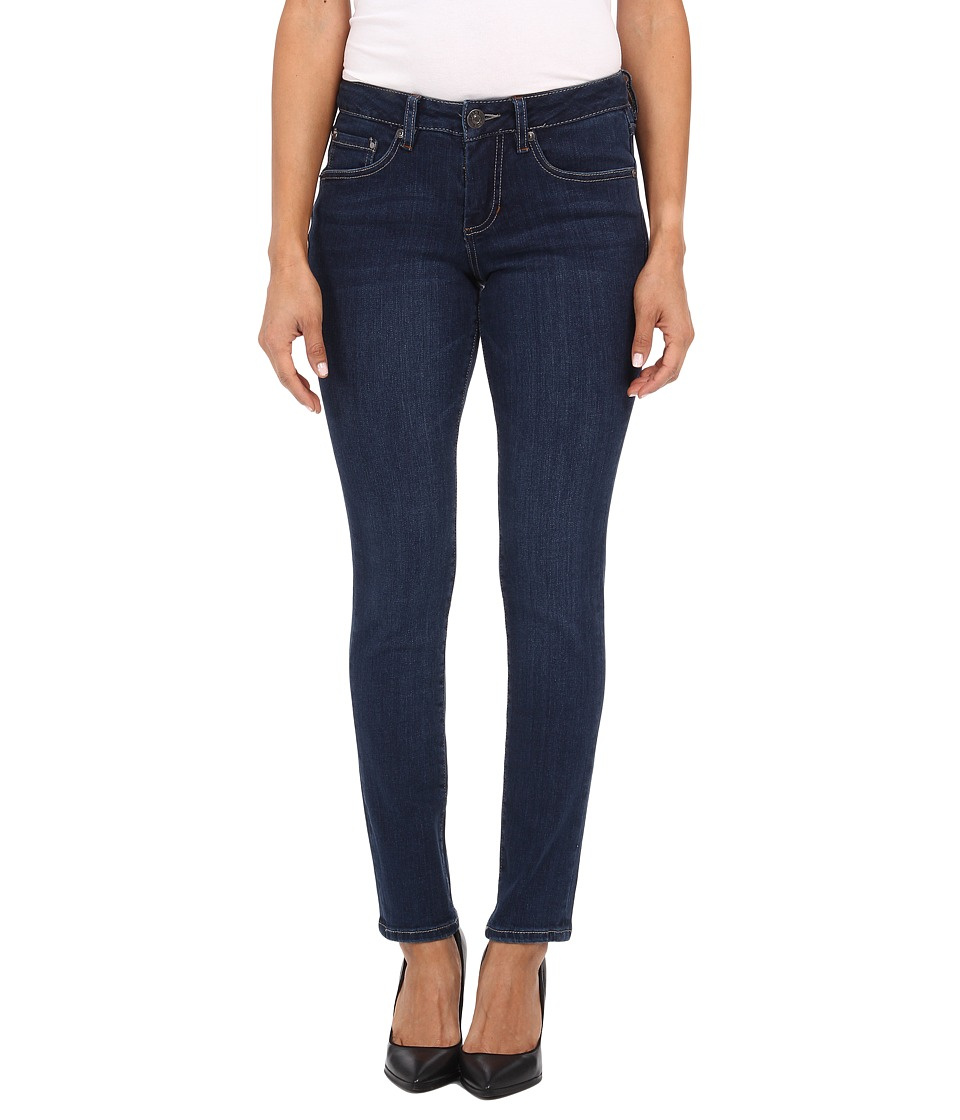 Jag Jeans Petite - Petite Grant Mid Rise Slim in Blue Shadow (Blue Shadow) Women