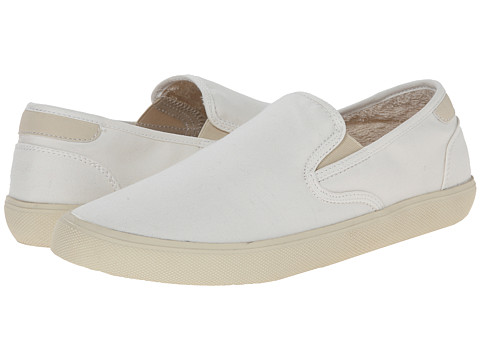 Steve Madden - Cooler (White Fabric) Men's Shoes