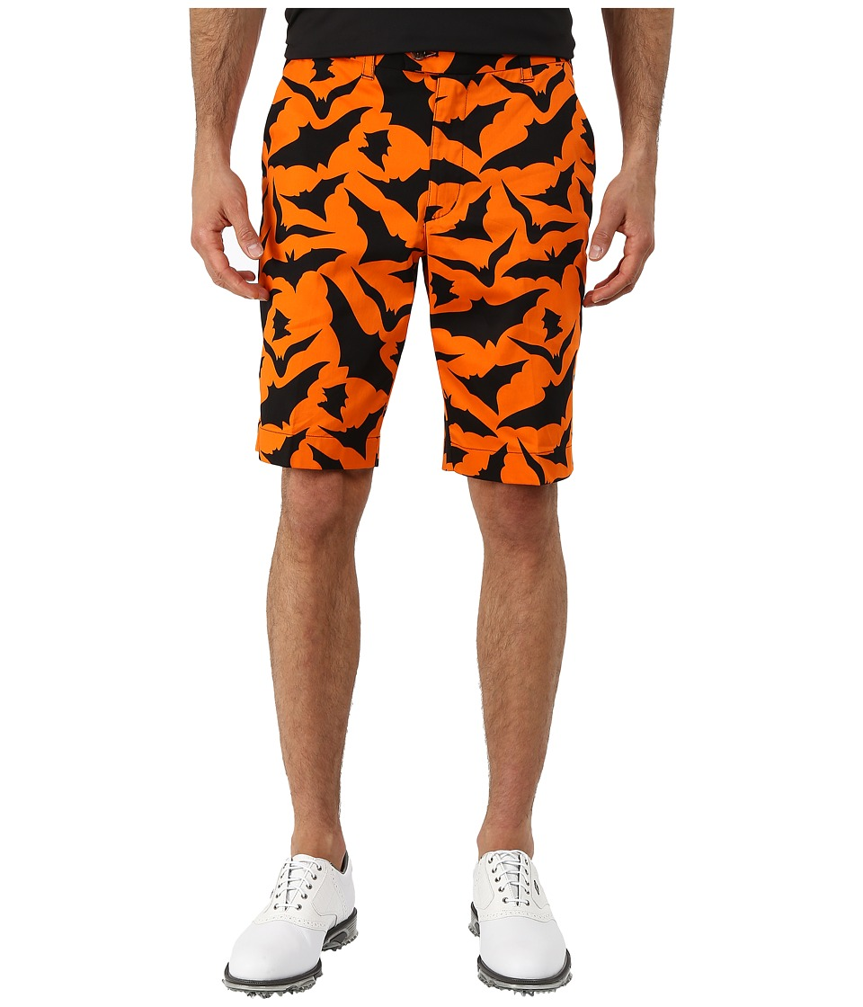 Loudmouth Golf - Blind Azza Shorts (Burnt Orange) Men