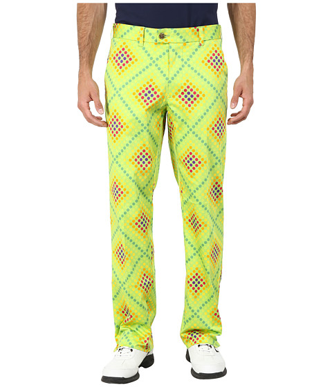 Loudmouth Golf - Dot Matrix Pants (Jasmine Green) Men