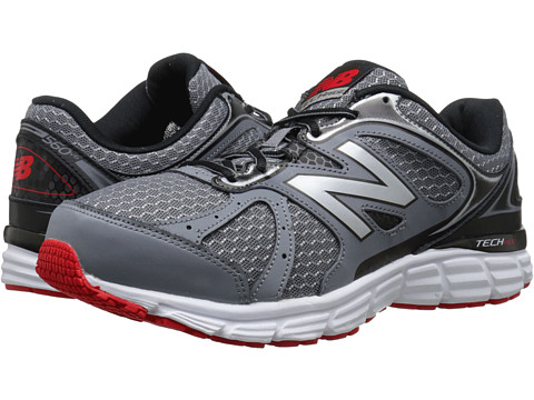 New Balance - 560v6 (Grey/Black/Red) Men's Running Shoes