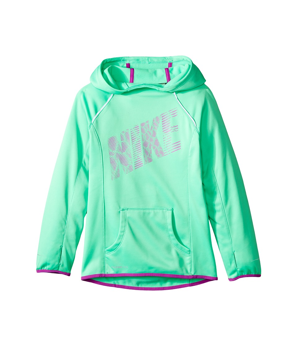 Nike Kids - Epic Flash OTH Fleece (Little Kids/Big Kids) (Electro Green/Vivid Purple/Vivid Purple) Girl's Fleece