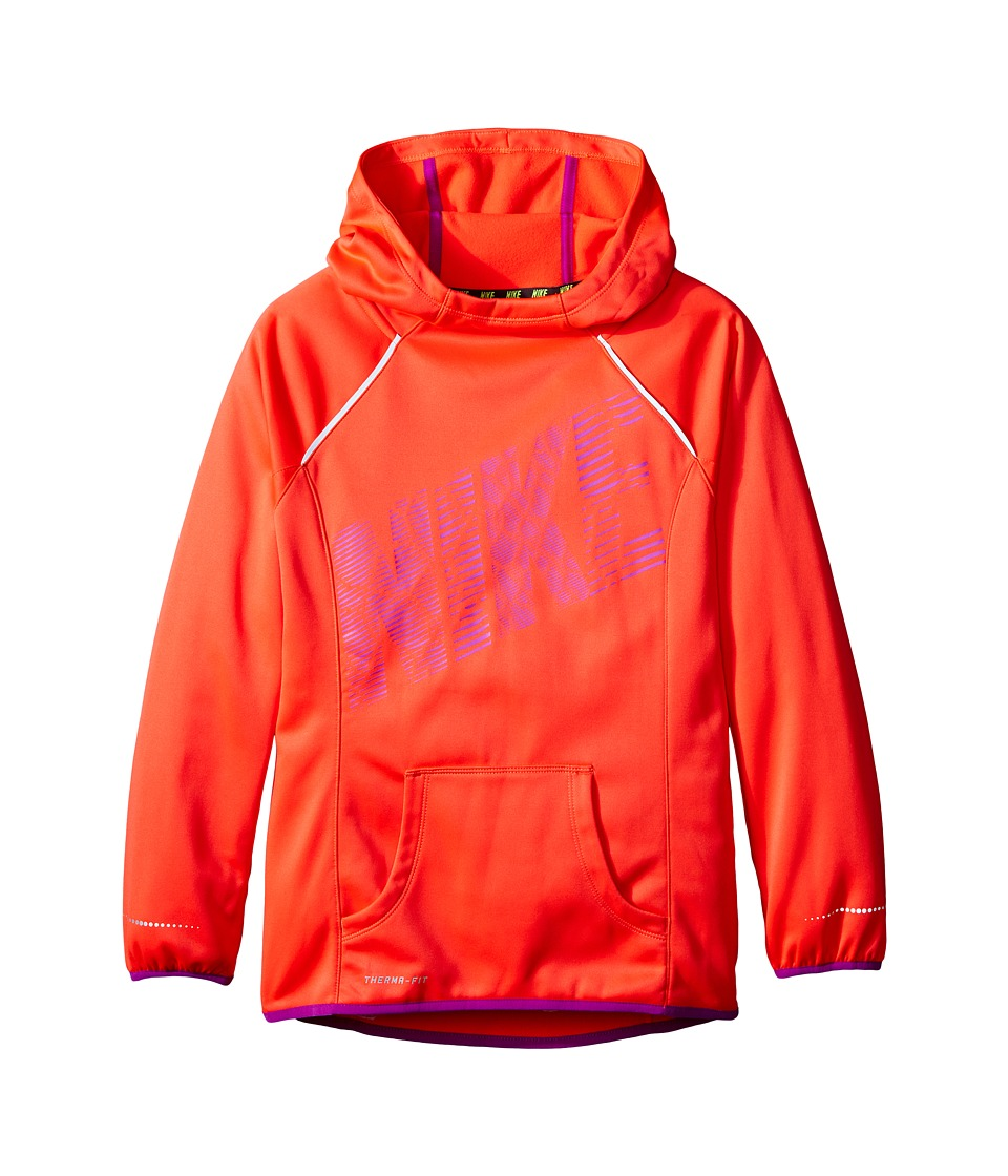 Nike Kids - Epic Flash OTH Fleece (Little Kids/Big Kids) (Bright Crimson/Vivid Purple/Vivid Purple) Girl's Fleece