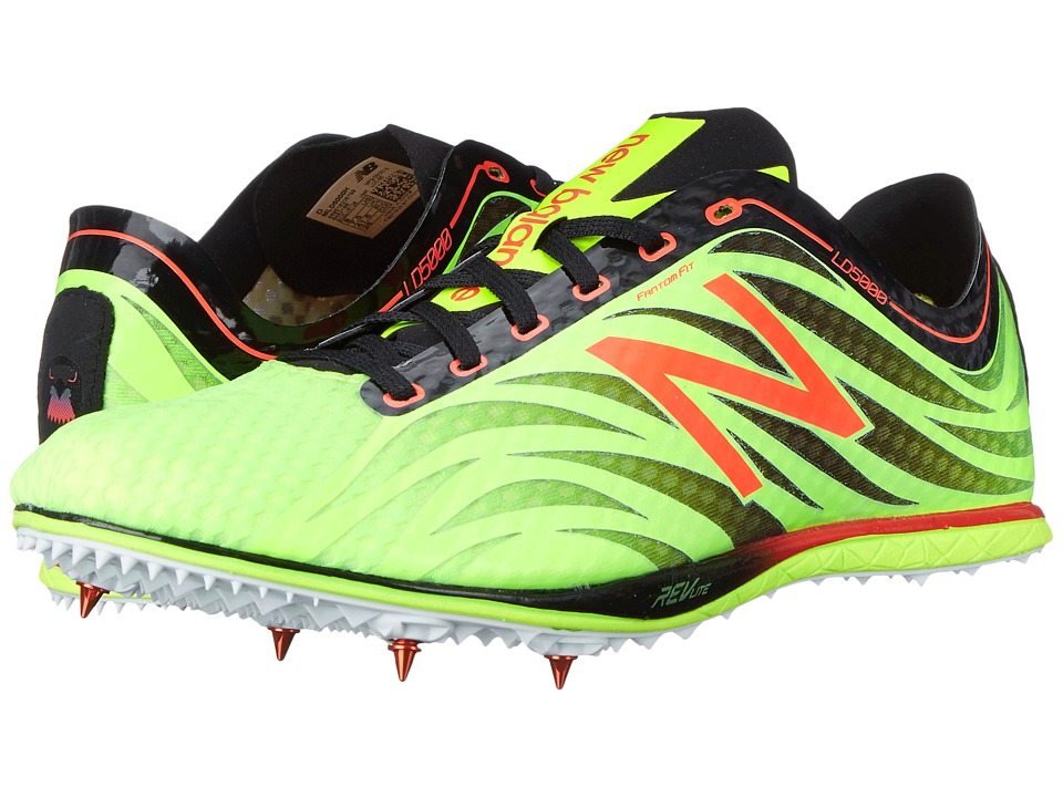 New Balance - LD50000v3 (Toxic/Black) Men's Running Shoes