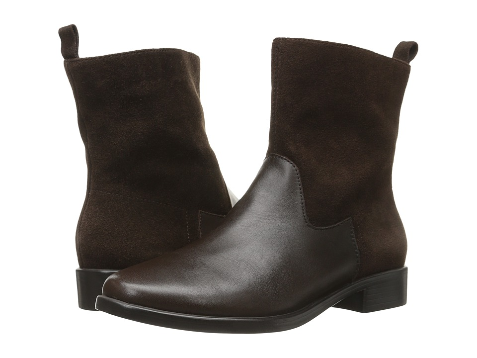 Aerosoles - Make A Wish (Dark Brown Leather) Women's Zip Boots