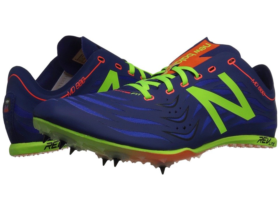 New Balance - MD800v4 (Basin/Toxic) Men's Running Shoes