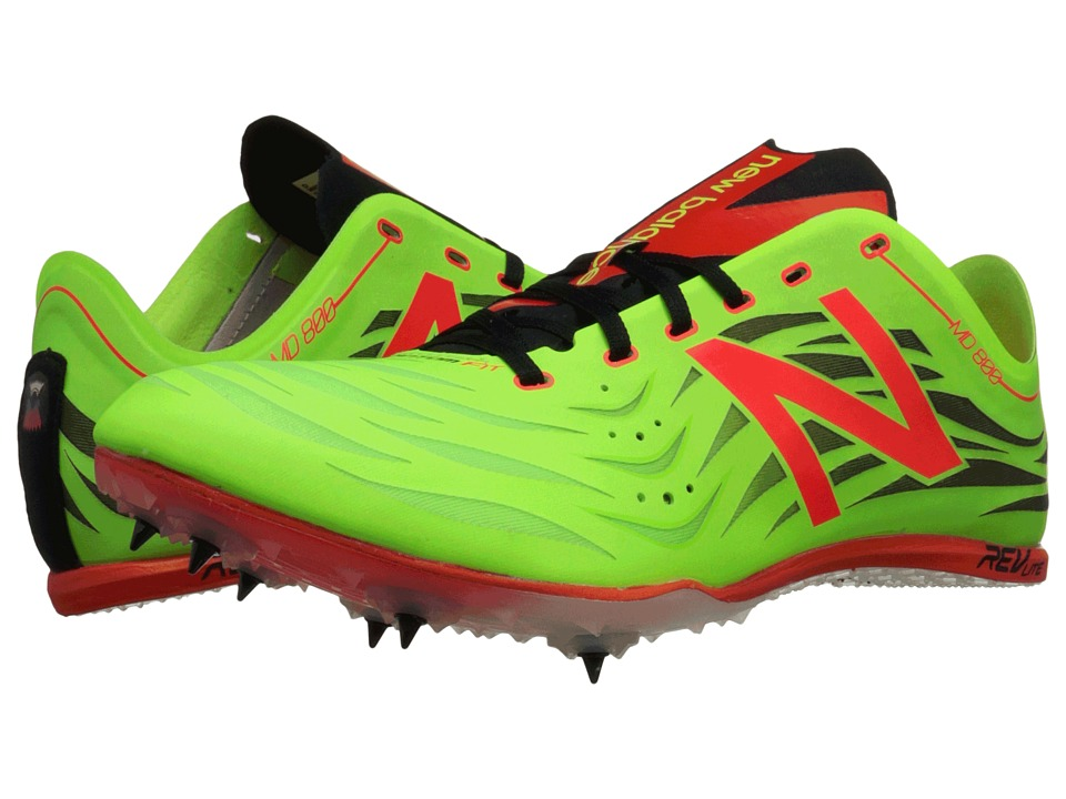 New Balance - MD800v4 (Toxic/Flame) Men's Running Shoes