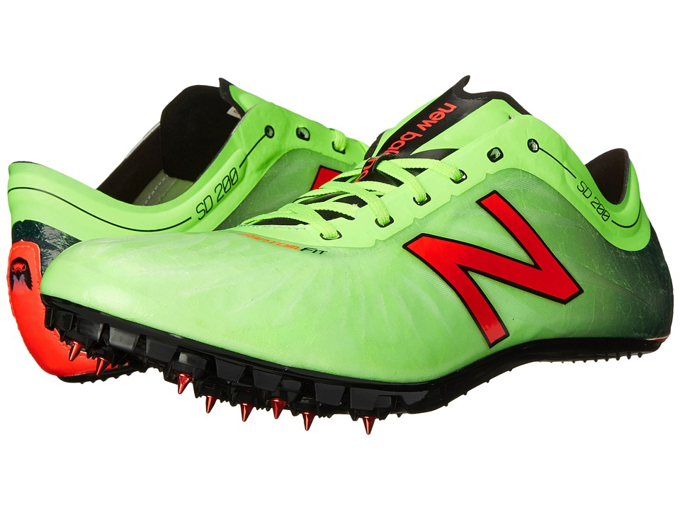 New Balance - SD200v1 (Toxic/Black) Men's Running Shoes