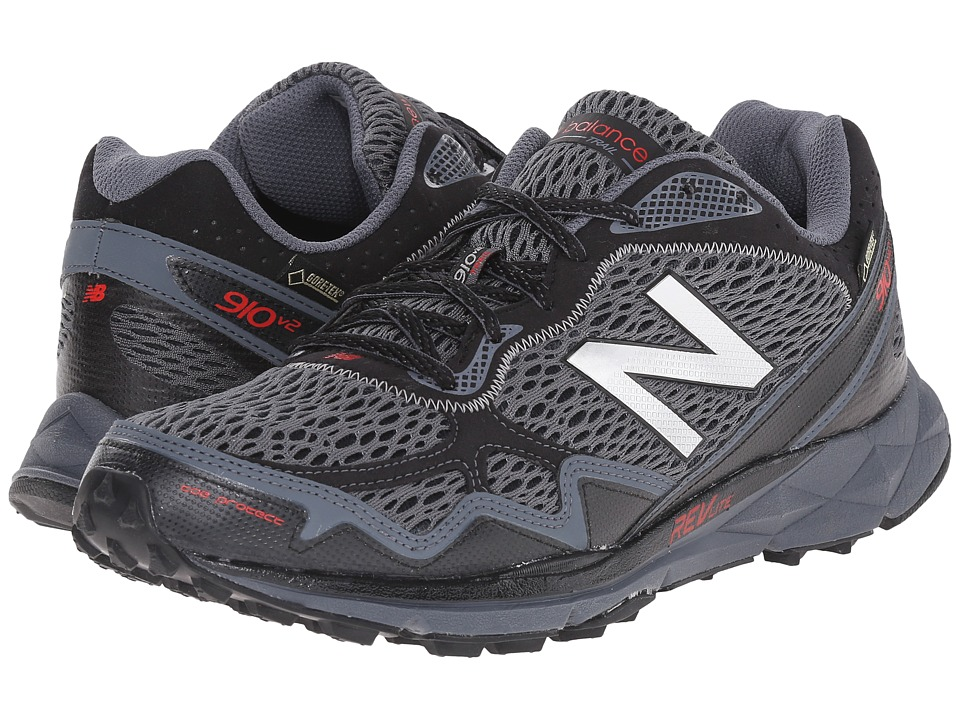 New Balance - MT910v2 (Black/Grey) Men's Running Shoes