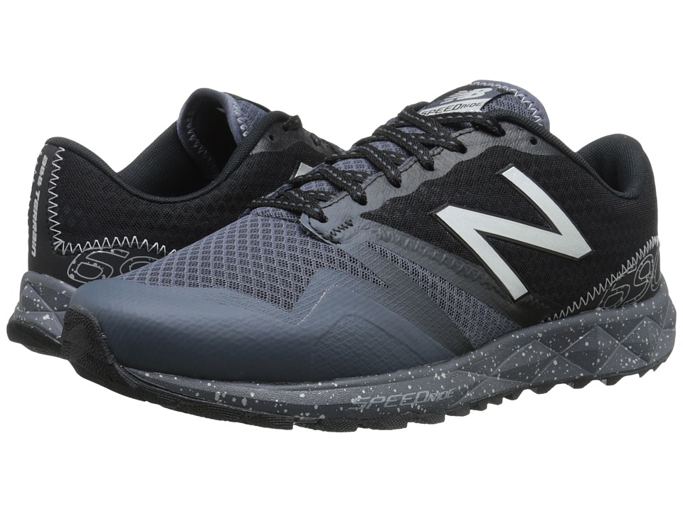 New Balance - T690v1 (Grey/Black) Men's Running Shoes