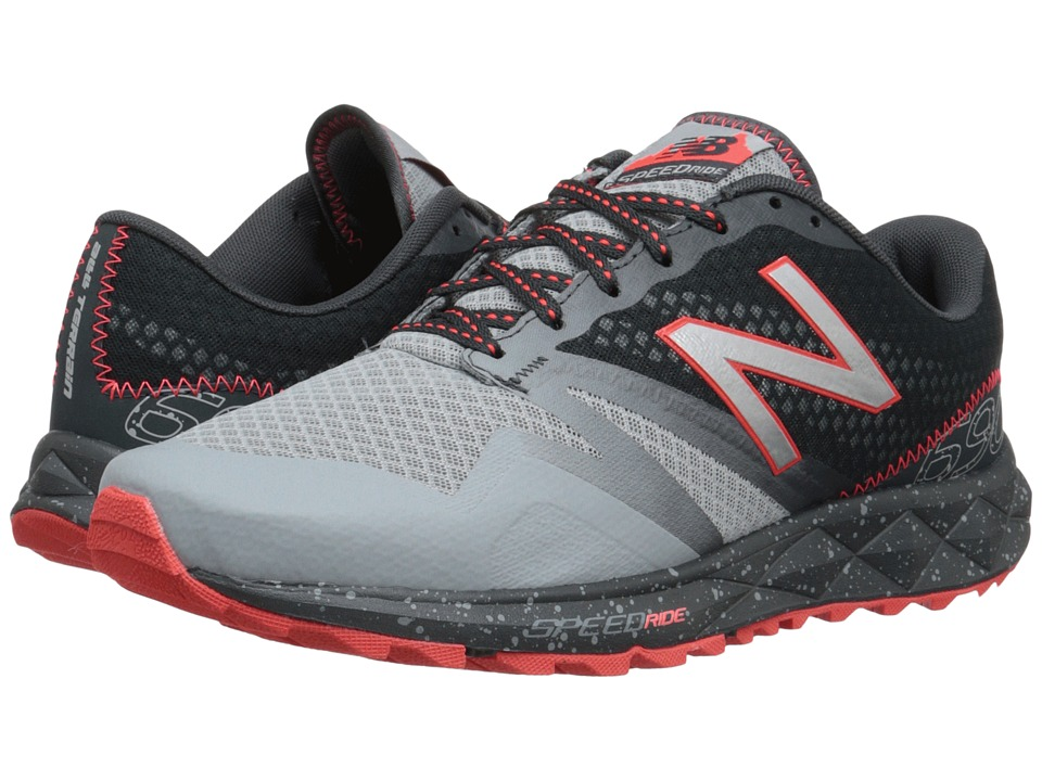 New Balance - T690v1 (Grey/Flame) Men's Running Shoes
