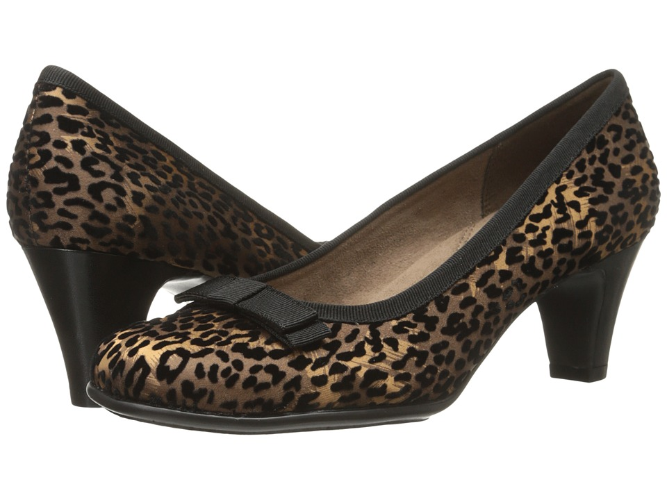 Aerosoles - Playhouse (Leopard Fabric Suede) Women's Shoes