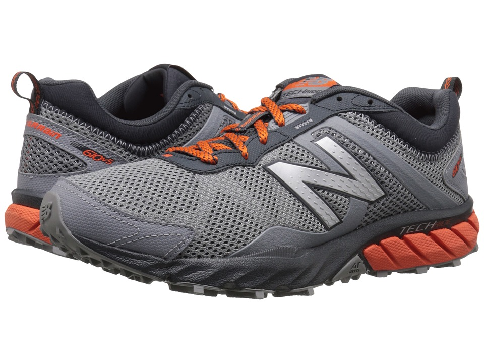 New Balance - T610v5 (Steel/Flame) Men's Running Shoes