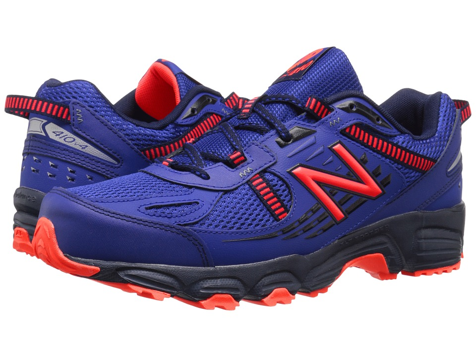 New Balance - T410v4 (Ocean Blue/Flame) Men's Running Shoes