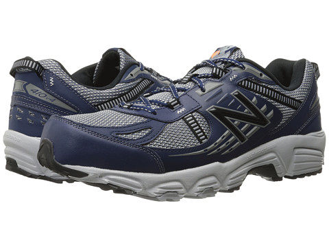 New Balance - T410v4 (Grey/Navy) Men's Running Shoes