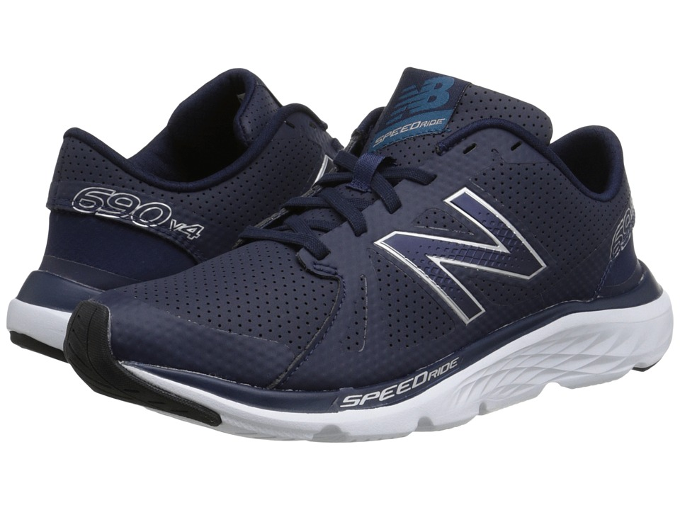 New Balance - 690v4 (Navy/Silver) Women's Running Shoes