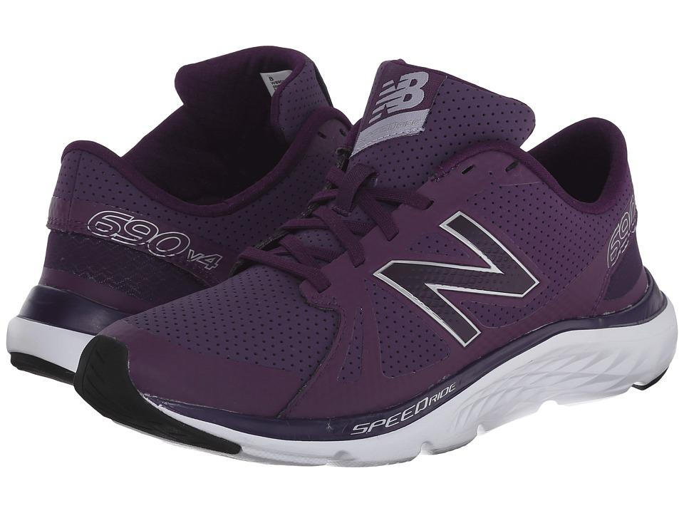 New Balance - 690v4 (Navy/Silver) Women's Running Shoes