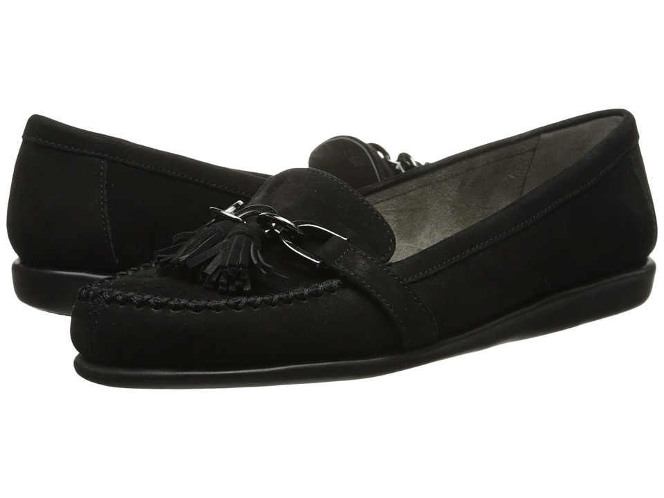 Aerosoles - Super Soft (Black Nubuck) Women's Slip on Shoes