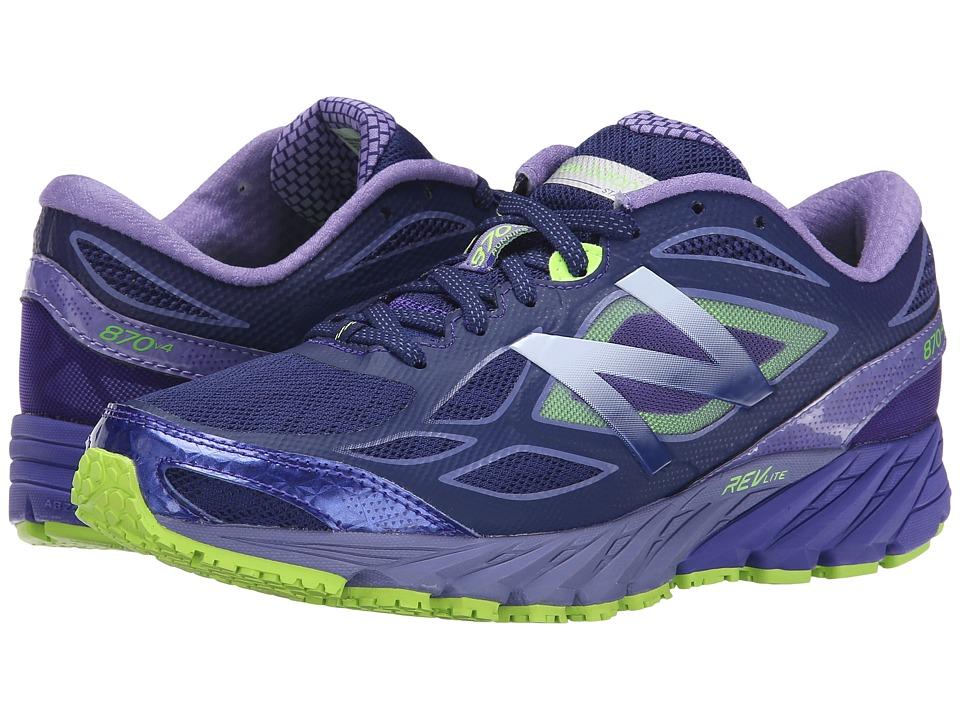 New Balance - 870v4 (Blue/Purple) Women's Running Shoes