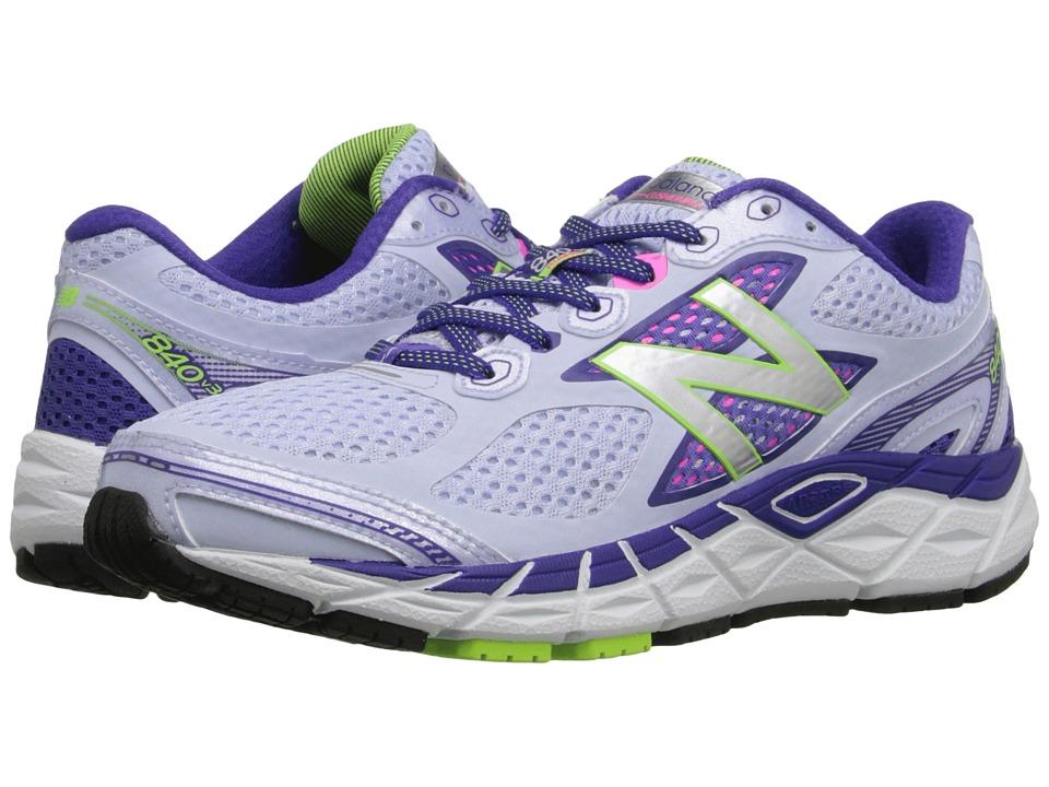 New Balance - 840v3 (Silver/Blue) Women's Running Shoes