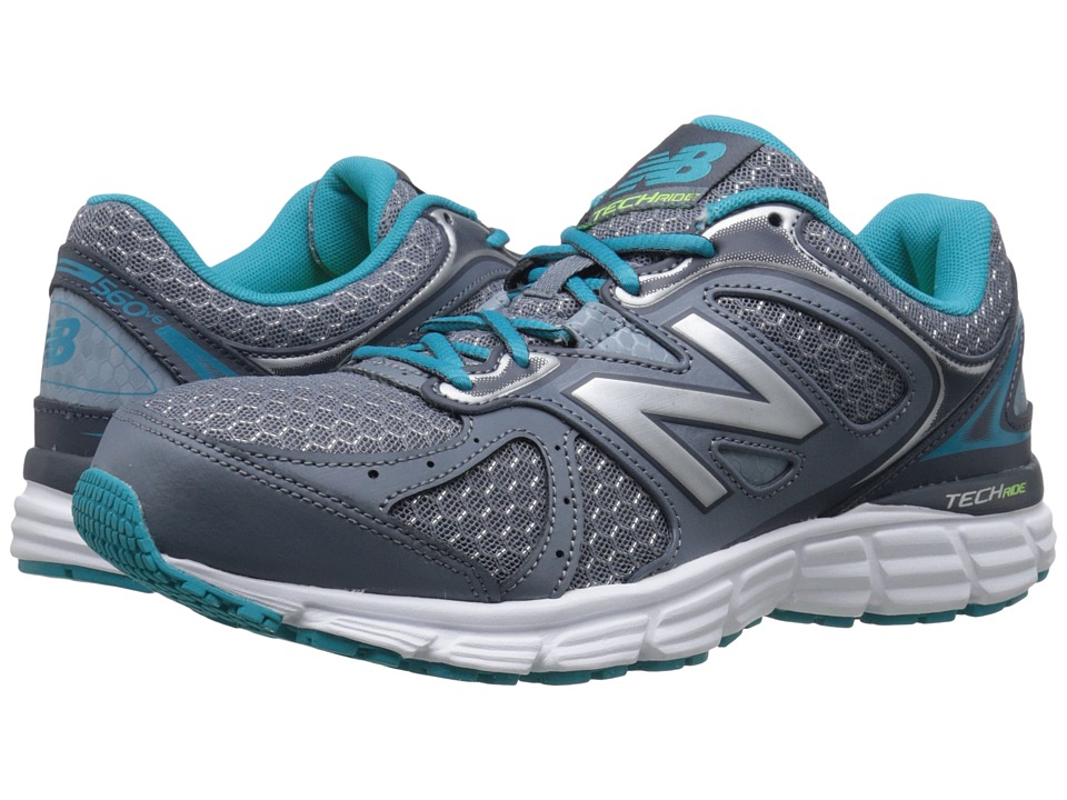 New Balance - 560v6 (Grey/Silver/Sea Glass) Women's Running Shoes