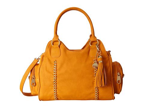 Big Buddha - Pilar Satchel (Mustard) Satchel Handbags