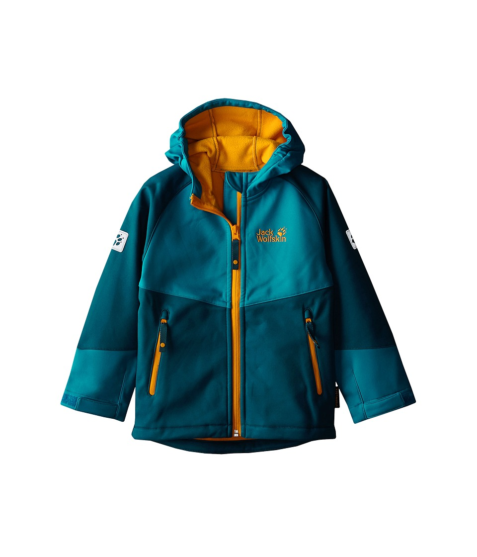 Jack Wolfskin Kids - Cold Mountain Jacket (Infant/Toddler/Little Kid/Big Kid) (Moroccan Blue) Kid's Coat