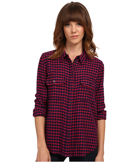 Paige - Trudy Shirt (Cerise/Dark Ink Blue) Women