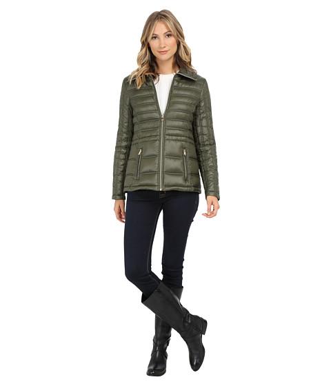 Jessica Simpson - Anorak Packable Down (Olive) Women's Coat