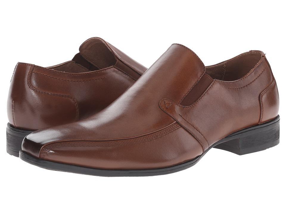 Steve Madden - Scripps (Cognac) Men's Slip on Shoes