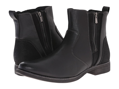 Steve Madden - Ballad (Black) Men's Zip Boots
