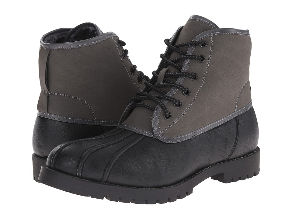 Steve Madden - Cornel (Black/Grey) Men