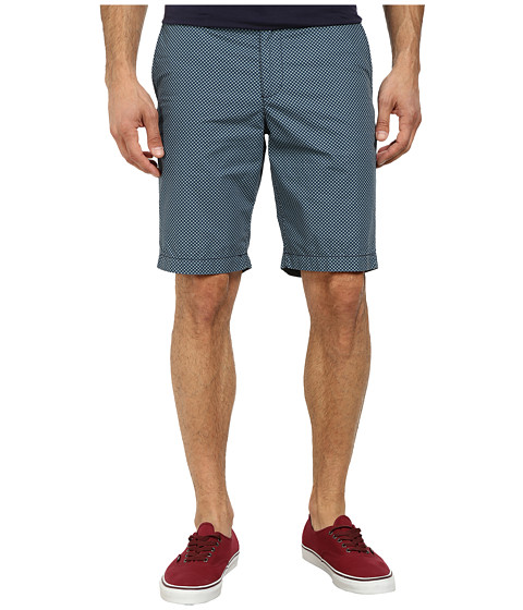 Original Penguin - Global Color Block Shorts (Dress Blues) Men