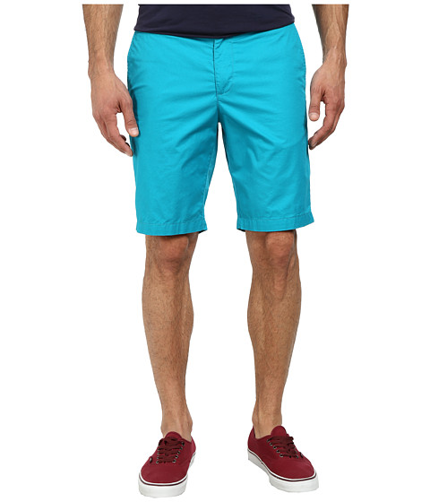 Original Penguin - Global Look Basic Shorts (Tile Blue) Men's Shorts