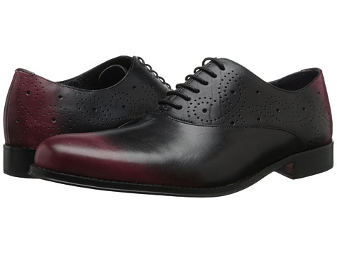 Robert Graham - Met 3 (Black/Bordeaux) Men's Shoes