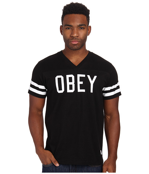 Obey - Maddox Tee (Black) Men's T Shirt