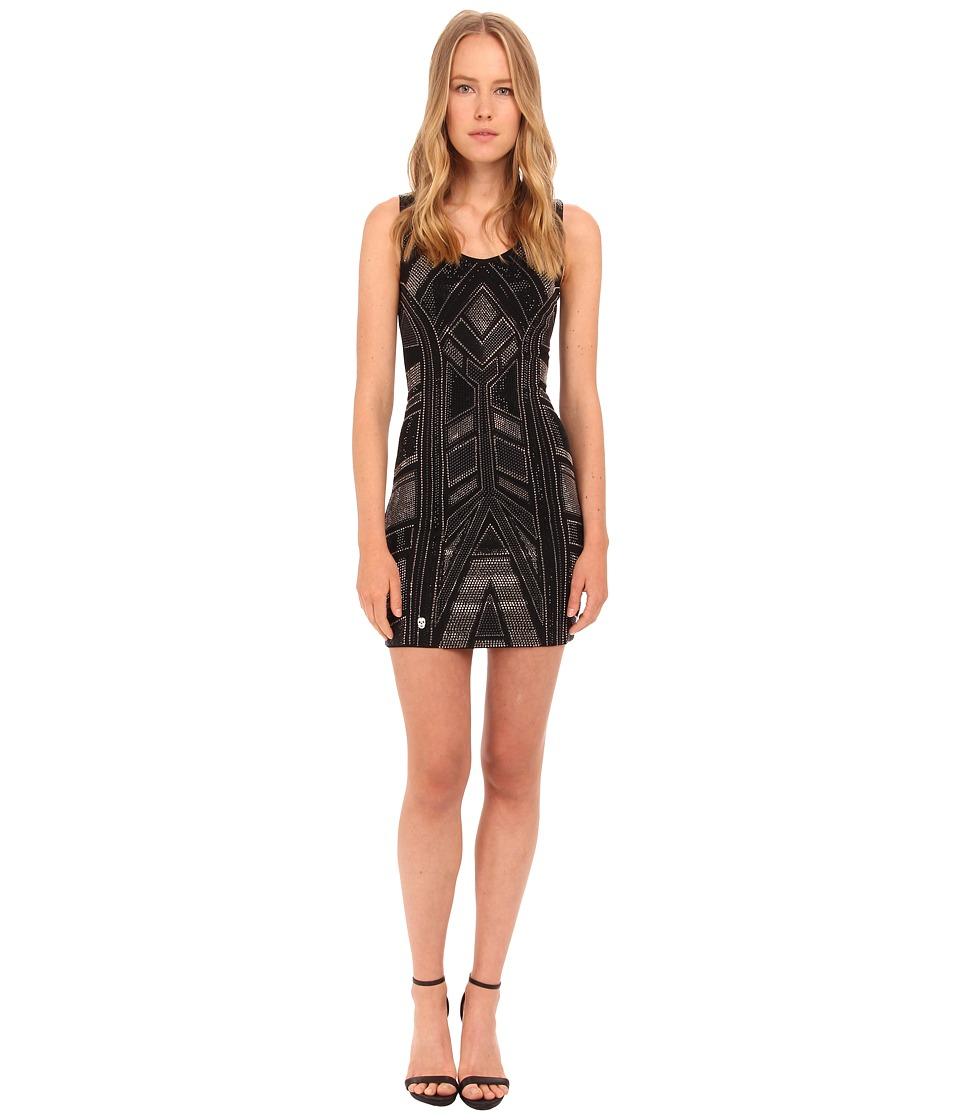 Philipp Plein - Dress Time (Black) Women's Dress
