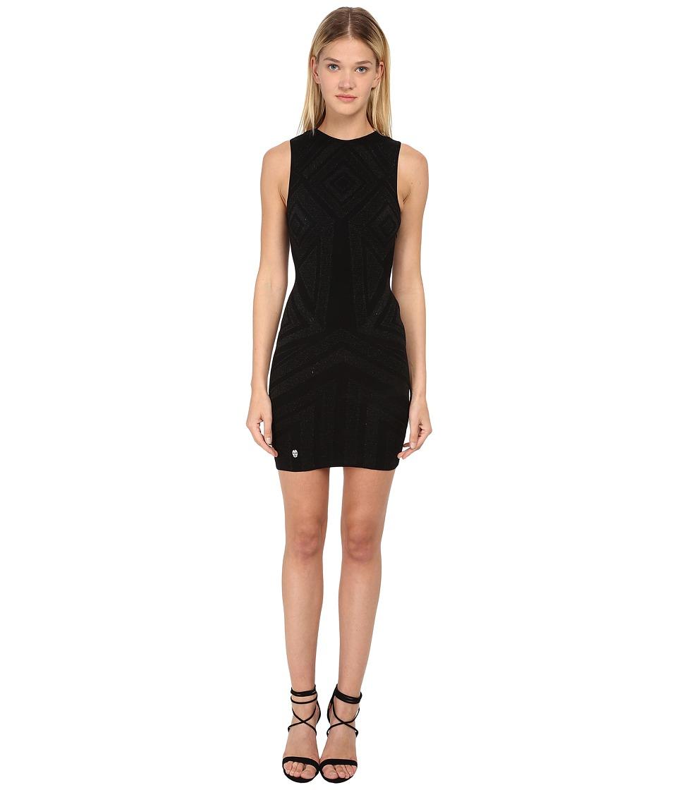 Philipp Plein - Dress Love (Black) Women's Dress