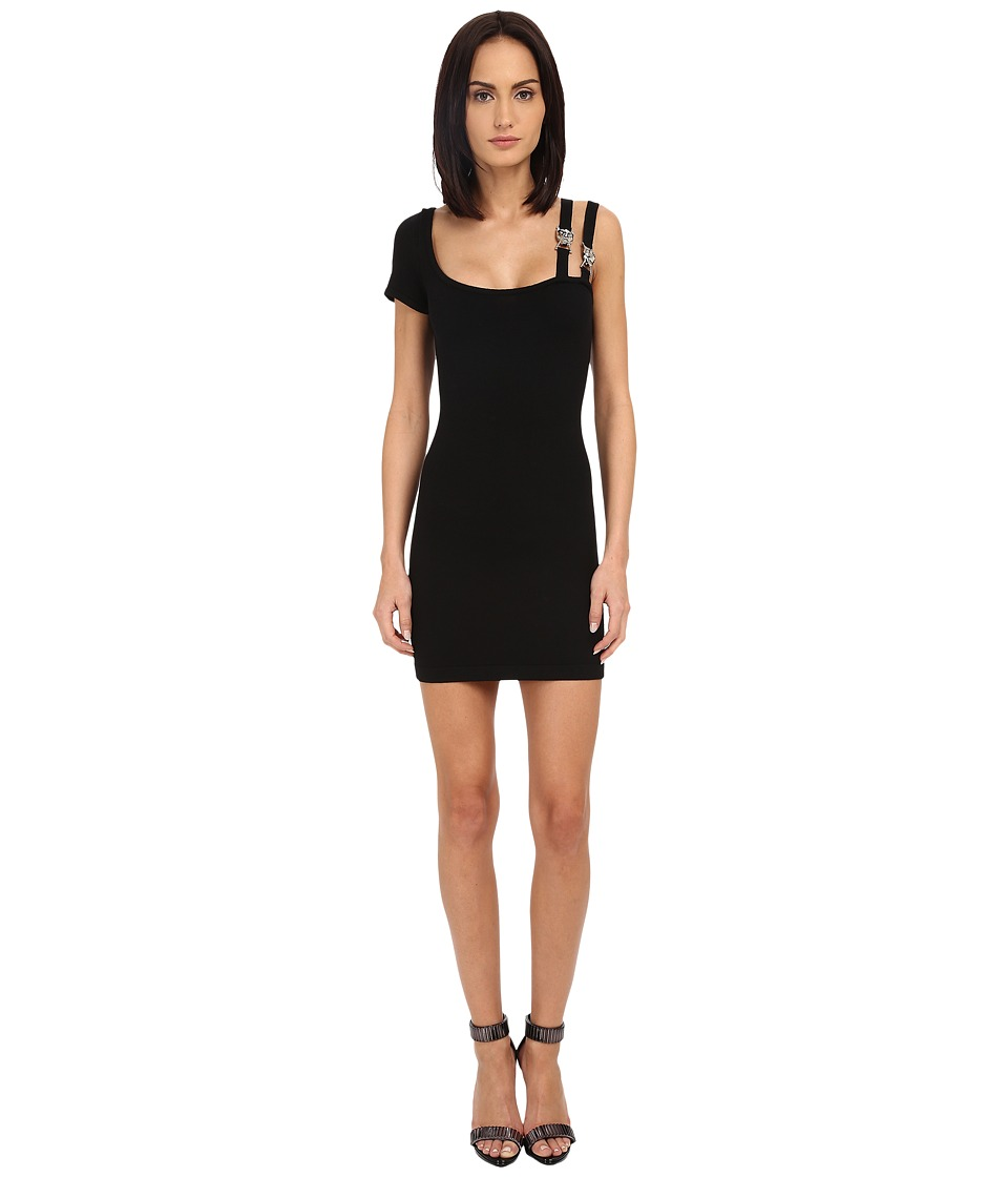 Philipp Plein - Short Dress Stars (Black) Women's Dress