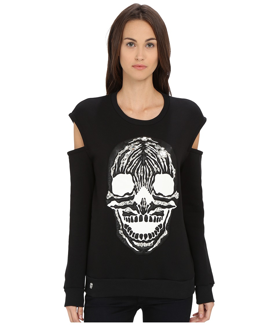 Philipp Plein - Sweater Phone (Black) Women's Sweater