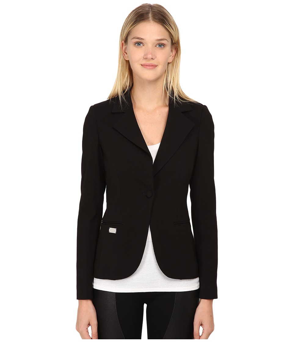 Philipp Plein - Jacket Front (Black/Silver) Women's Jacket