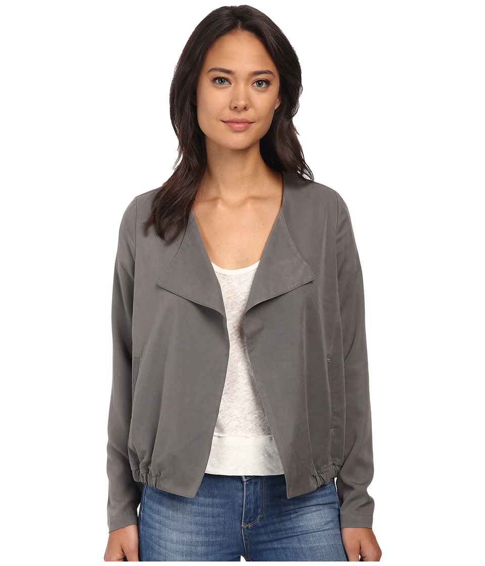 ONLY - Louise Long Sleeve Blazer (Gunmetal) Women