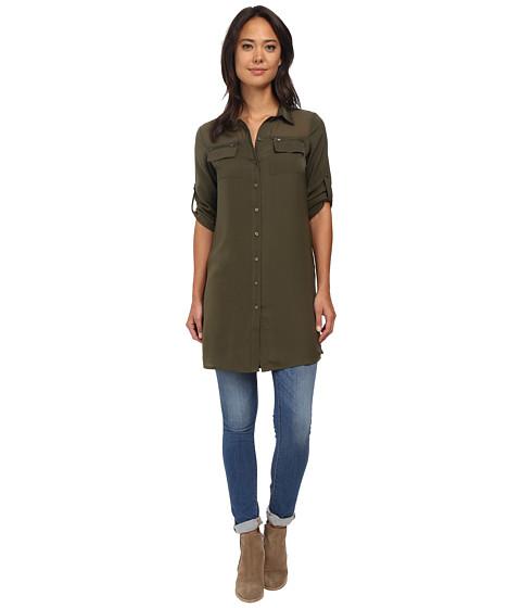 ONLY - Avery 3/4 Long Shirt (Grape Leaf) Women