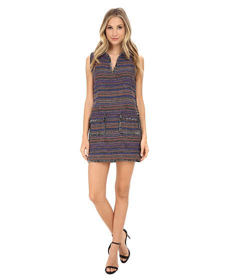 Rachel Zoe - Bay Sleeveless Fringe Dress (Multi) Women's Dress